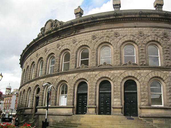 The Corn Exchange is one of many listed buildings in Leeds
