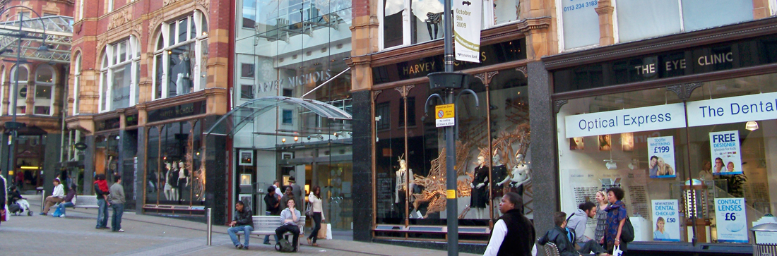 Retail Units In Leeds