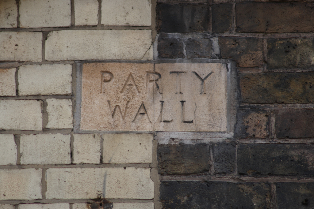 Party wall matters nabarro mcallister for Party wall agreement